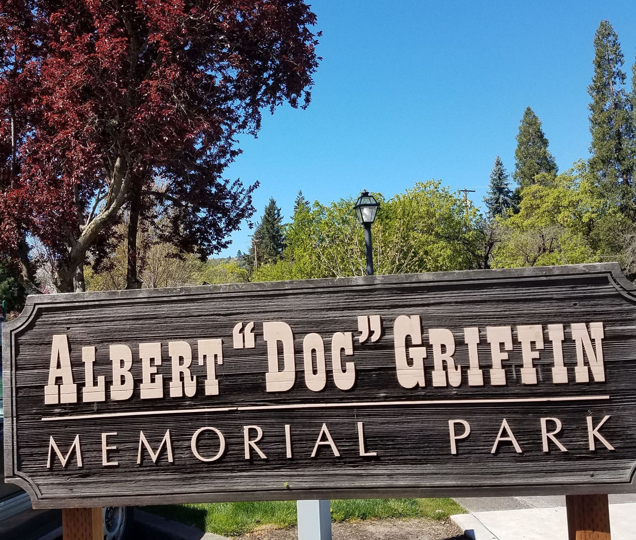 Doc Griffin Park_sign