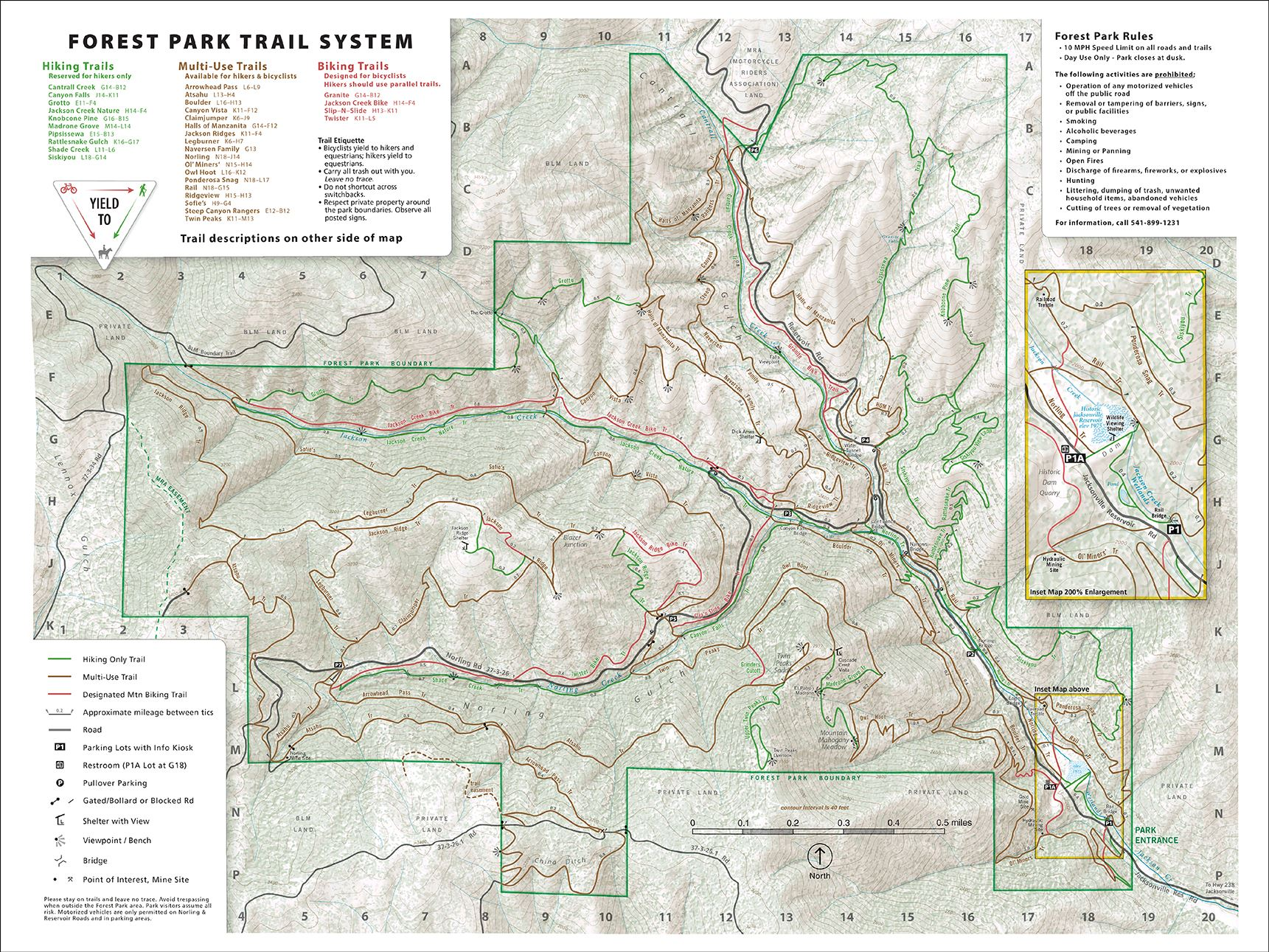 Forest Park Map 12-14-18