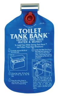Conservation- toilet tank bank
